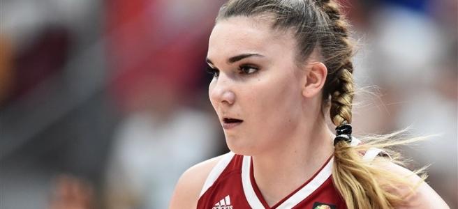 Maria Vadeeva of Russia. Photo courtesy of FIBA Basketball