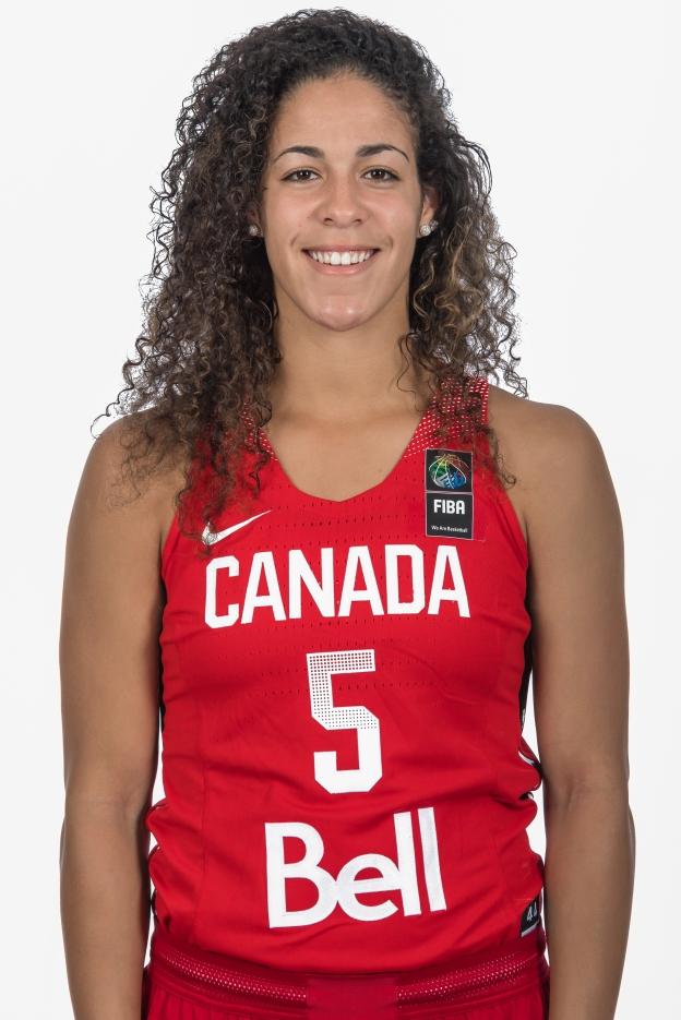 Kia Nurse, Photo courtesy of Canada Basketball