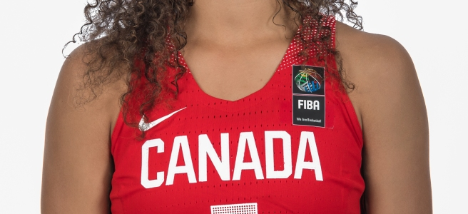 Kia Nurse, Photo courtesy of Canada Basketball