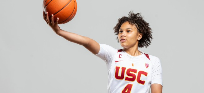 Endyia Rogers of USC was fantastic this past week.