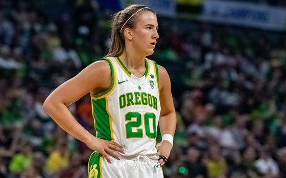 Sabrina Ionescu of Oregon