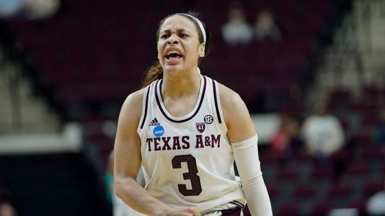 Chennedy Carter of Texas A&M is a top draft prospect.