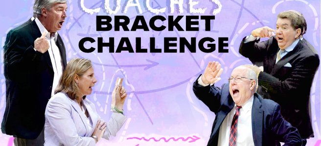wnba coaches, tournament bracket challenge