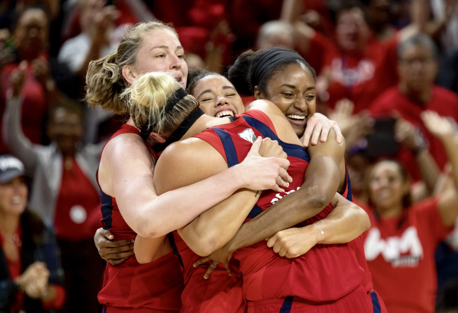 Washington Mystics, 2019 WNBA Champs.
