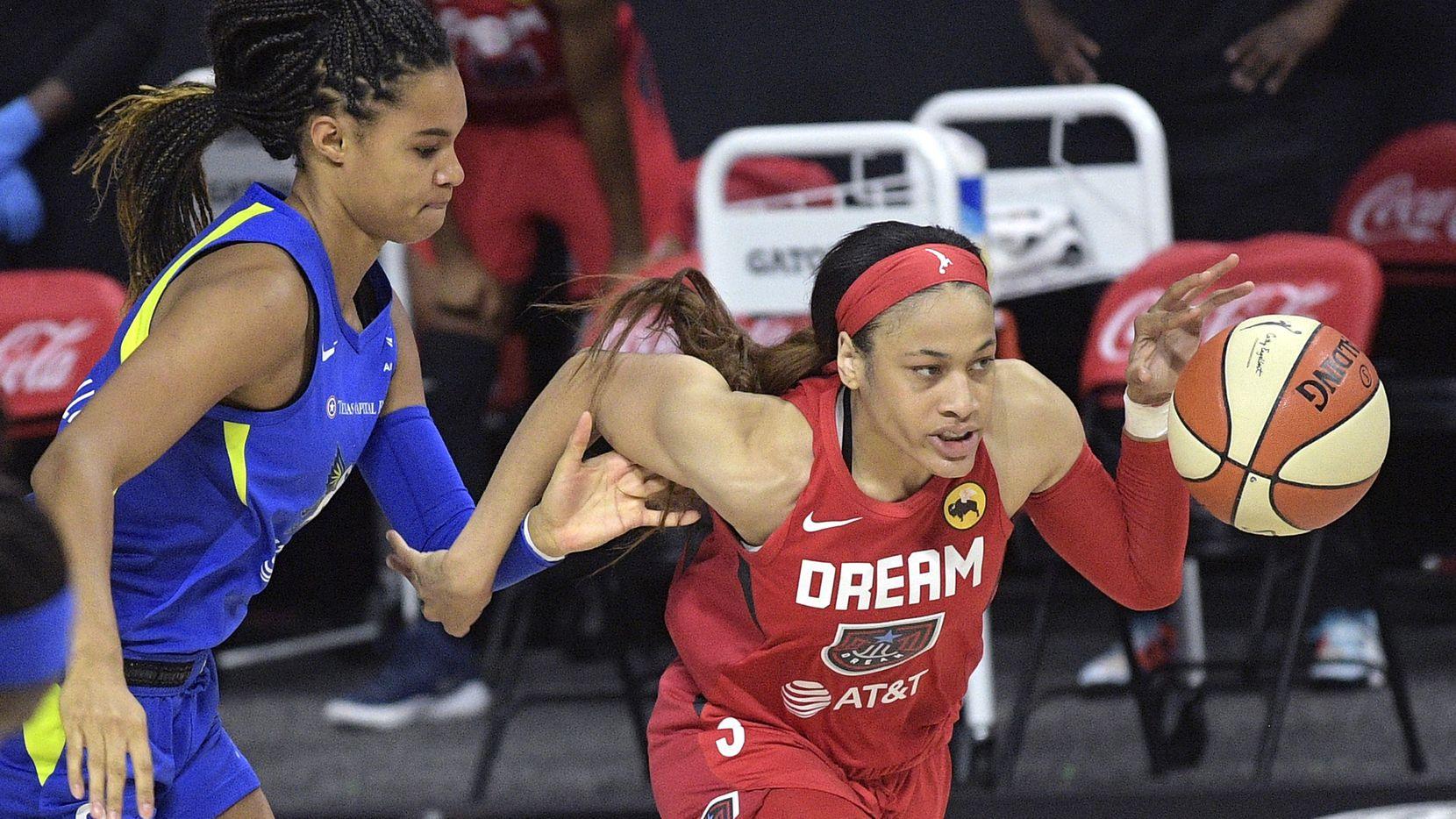 Chennedy Carter, Satou Sabally, Atlanta Dream, Dallas Wings, WNBA