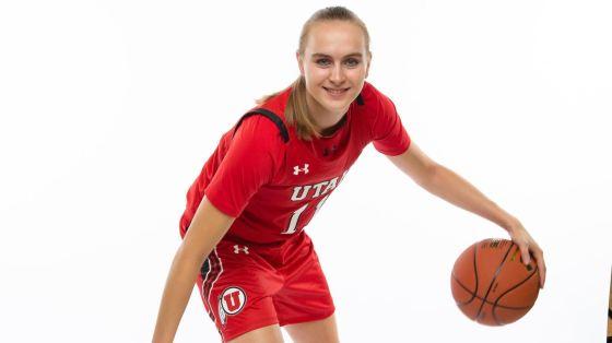 Brynna Maxwell of Utah Women's Basketball.