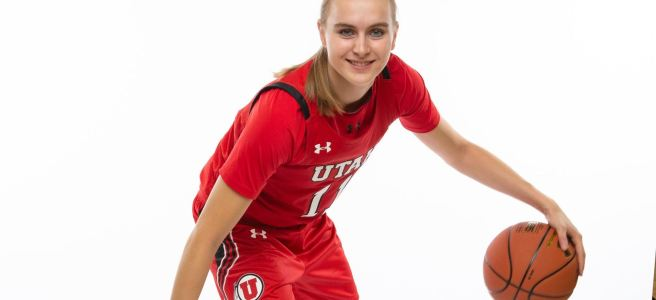 Brynna Maxwell of Utah Women's Basketball.