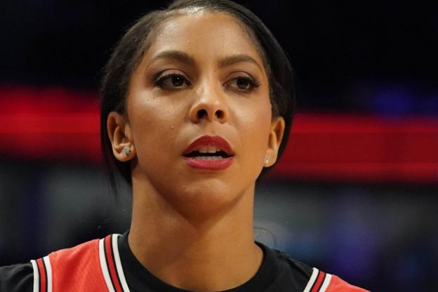 Candace Parker of the Chicago Sky.