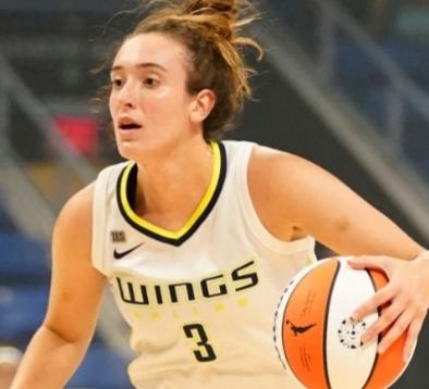 Marina Mabrey of the Dallas Wings