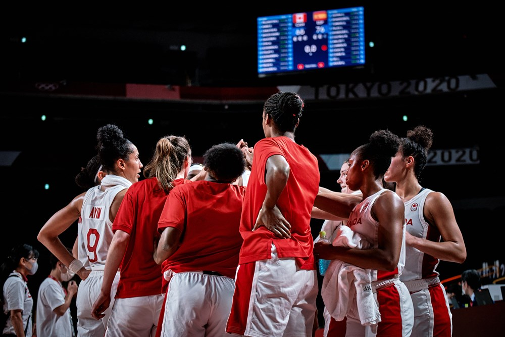 Canadian Senior Women's National Basketball Team