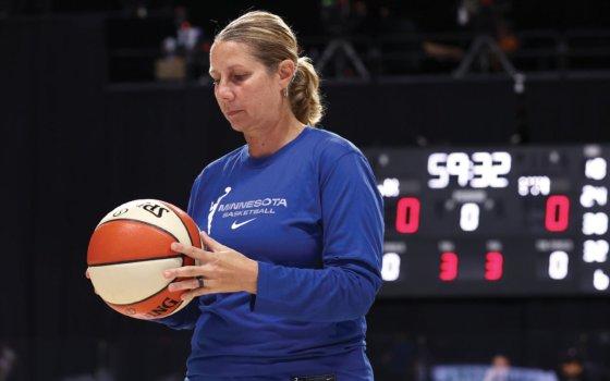 Cheryl Reeve of the Minnesota Lynx