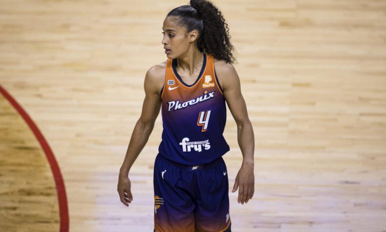 Skylar Diggins-Smith of the Phoenix Mercury.
